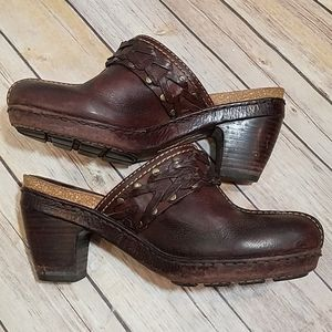 Frye Candice woven clog